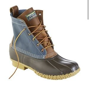 Men's Limited-Edition Colorblock Bean Boots